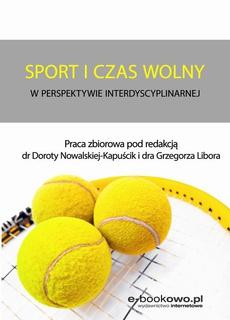 Sport i czas wolny w perspektywie interdyscyplinarnej