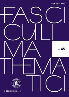 Fasciculi Mathematici 2010/45