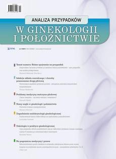 Analiza przypadków w ginekologii i położnictwie 1/2014