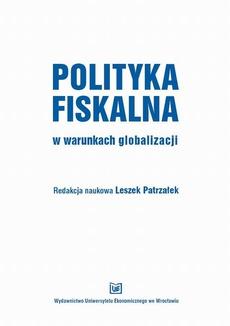 Polityka fiskalna w warunkach globalizacji
