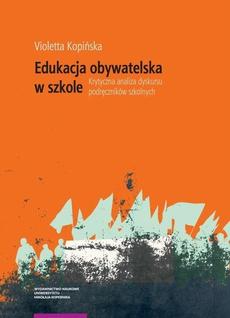 Edukacja obywatelska. Krytyczna analiza dyskursu podręczników szkolnych
