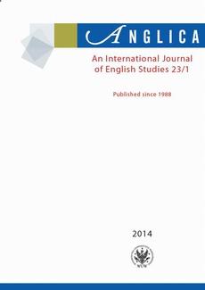 Anglica. An International Journal of English Studies 2014 23/1