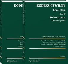 Kodeks cywilny. Komentarz. Tom 4 i 5. Zobowiązania. Część szczegółowa