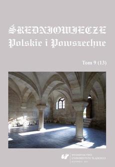 Średniowiecze Polskie i Powszechne. T. 9 (13) - 09 Aktywność gospodarcza kobiet w Starej i Nowej Warszawie w 1. poł. XV wieku