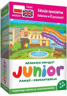 Junior WIOSNA (pol-ang.) seria Akademia Umysłu