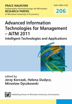 Advanced Information Technologies for Management-AITM 2011