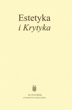 Estetyka i Krytyka Nr 19 (2/2010)