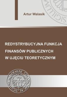Redystrybucyjna funkcja finansów publicznych w ujęciu teoretycznym
