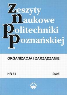 Organizacja i Zarządzanie, 2008/51