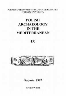 Polish Archaeology in the Mediterranean 9