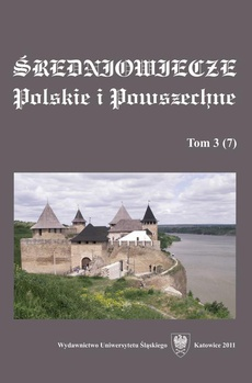 """""""Średniowiecze Polskie i Powszechne"""". T. 3 (7)"""