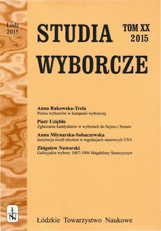 Studia Wyborcze t. 20