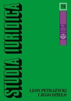 Studia Iuridica, nr 74