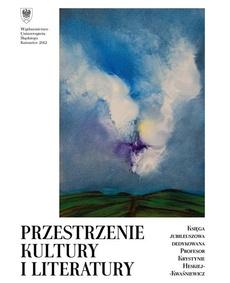Przestrzenie kultury i literatury - 19 Mistyka gwiazd w poemacie Norberta Bonczyka