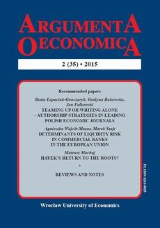 Argumenta Oeconomica, nr 2(35)