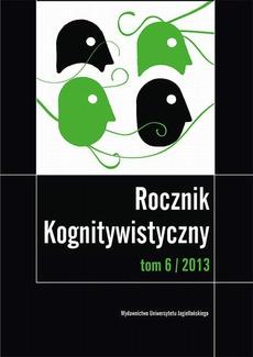 Rocznik Kognitywistyczny. Tom VI/2013