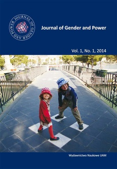 Journal of Gender and Power Vol. 1, No. 1, 2014