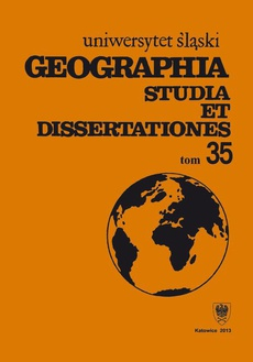 Geographia. Studia et Dissertationes. T. 35 - 03 Metropolizacja w konurbacji górnośląskiej