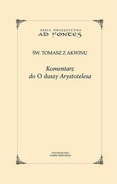 """Komentarz do """"O duszy"""" Arystotelesa"""
