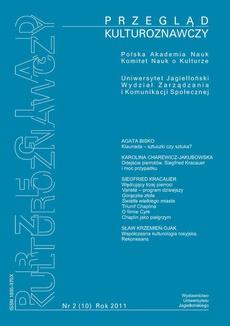 Przegląd Kulturoznawczy Nr 2 (10) Rok 2011