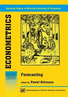 Econometrics 28. Forecasting