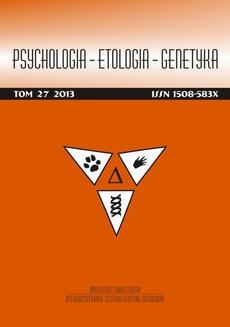 Psychologia-Etologia-Genetyka nr 27/2013 - Wyścig Liczb – The Number Race – polska wersja językowa narzędzia wczesnej interwencji w przypadku ryzyka dyskalkulii rozwojowej oraz ws pomagania rozwoju kompetencji arytmetycznych