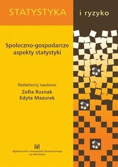 Społeczno-gospodarcze aspekty statystyki. PN 309