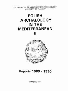 Polish Archaeology in the Mediterranean 2
