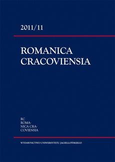 Romanica Cracoviensia 2011/11