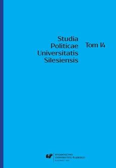 Studia Politicae Universitatis Silesiensis. T. 14
