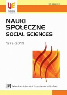 Nauki Społeczne 1(7) 2013