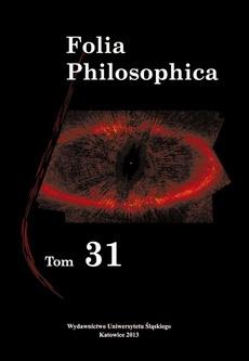 Folia Philosophica. T. 31 - 13 Recenzje