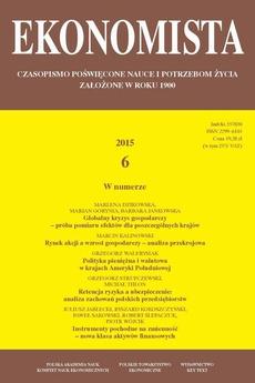 Ekonomista 2015 nr 6