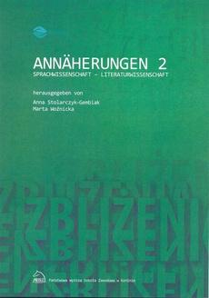 Annäherungen 2 Sprachwissenschaft - Literaturwissenschaft