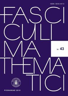 Fasciculi Mathematici 2010/43