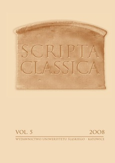 "Scripta Classica. Vol. 5 - 07 ""The Scipio's Dream"" in Cicero's ""De republica"" - Reminiscence of ""praetexta""?"