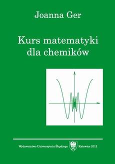 Kurs matematyki dla chemików. Wyd. 5. popr.