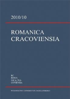 Romanica Cracoviensia 2010/10