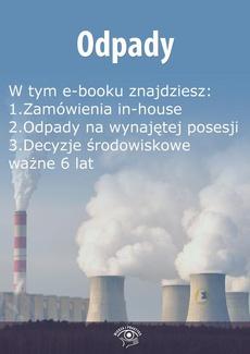 Odpady, wydanie sierpień 2015 r.