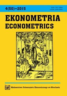 Ekonometria 4(50)