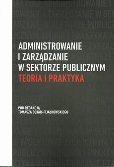 Administrowanie i zarządzanie w sektorze publicznym