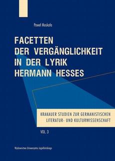 Facetten der Vergänglichkeit in der Lyrik Hermann Hesses