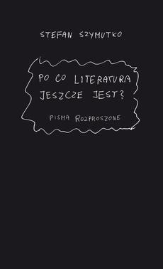 Po co literatura jeszcze jest? - 05 Wywiady