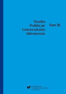 """""""Studia Politicae Universitatis Silesiensis"""". T. 18 - 08 Państwa Grupy Wyszehradzkiej wobec kryzysu migracyjnego"""