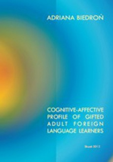 Cognitive-affective profile of gifted adult foreign language learners