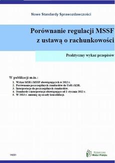 Porównanie regulacji MSSF z ustawą o rachunkowości