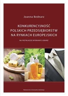 Konkurencyjność polskich przedsiębiorstw na rynkach europejskich