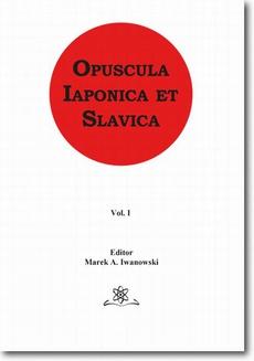 Opuscula Iaponica et Slavica Vol. 1