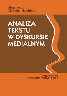 Analiza tekstu w dyskursie medialnym