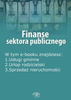 Finanse sektora publicznego, wydanie czerwiec 2016 r.